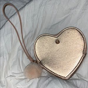Lauren Conrad  heart shaped wristlet